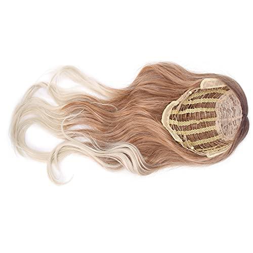 Dames Blonde Pruik, Voering Kwaliteit Mesh Dames Kostuum Pruiken Goede Luchtdoorlatendheid voor Maskerade voor Aankleedspel voor Kapsalon voor Feest