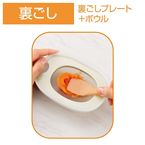 Combi(コンビ)ベビーレーベル離乳食ナビゲート調理セット5カ月頃~対象
