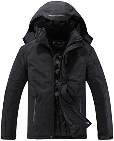 Men s Waterproof Ski Jacket Warm Winter Snow Coat Hooded Raincoat product image