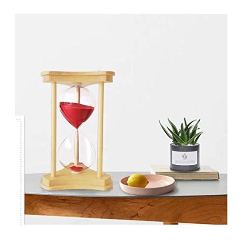 JINSUO NWXZU Hourglaßtimer, 30 Minuten Home Wohnzimmer-Dekoration Dekorationen, senden Männer und Frauen Freunde Confession Geschenke Schöne Geschenk (Color : 1)
