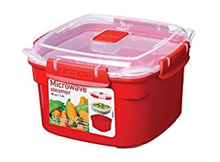 Sistema Microwave Collection Steamer, Small, 50 oz./1.4 L, Red (B005D6XXPK) | Amazon price tracker / tracking, Amazon price history charts, Amazon price watches, Amazon price drop alerts