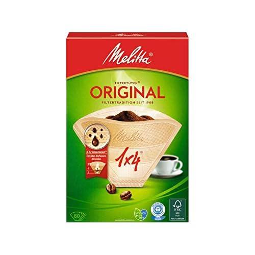 Melitta, Set di filtri per caffè, 80 pz.