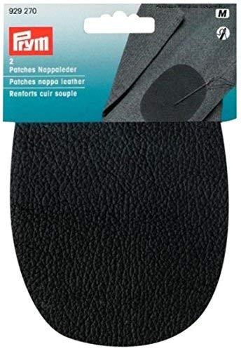 Prym Nappa Leather Patches, Black, 10 x 14 cm - Medium