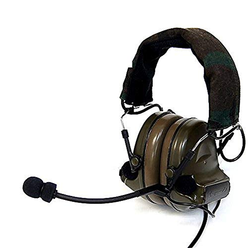 AIRSOFT Pro z-tactical Z041Military Army Airsoft-Comtac II Headset mit Woodland Band