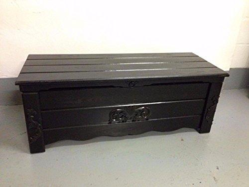 DECOCRAFT BT6 Boîte à couverture en bois Style vintage