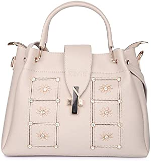 Nevis Black womens Flap Handbag/Crossbody bag