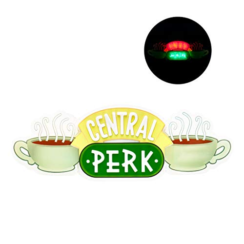 Central Perk LED Neon Light - Wall Mountable - Officially Licensed Friends Show Merchandise