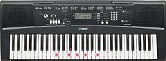 Yamaha Digital Keyboard EZ-220, zwart - Draagbaar digitaal toetsenbord met USB-to-host poort - Toetsenbord met 61 impact dynamische lichttoetsen*