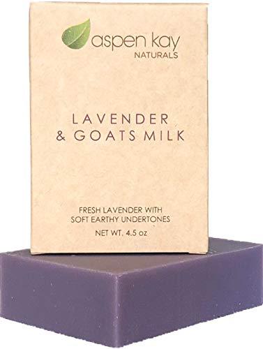 Lavender Goats Milk Soap Bar