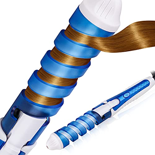 Tomorotec Professional Spiral Curl Ceramic Spiral Styler Curling Iron Hair Curler...