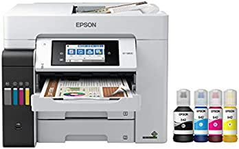 Epson EcoTank Pro ET-5800 Wireless Color All-in-One Supertank Printer with Scanner, Copier, Fax and Ethernet