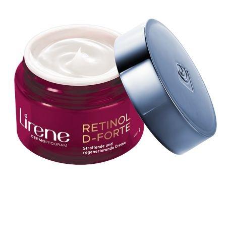 Lirene RETINOL D-FORTE Straffende und regenerierende Creme Nachtcreme
