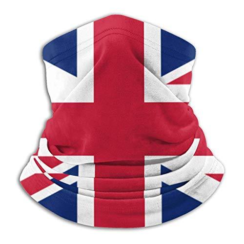 NCH UWDF Bandera británica Gran Bretaña Inglés Inglaterra Bandanas de cara sin costuras para polvo aire libre festivales deportes