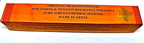 YesMandala Incienso Tibetano Curativo - 2 Cajas de 20 Varillas en Cada Caja