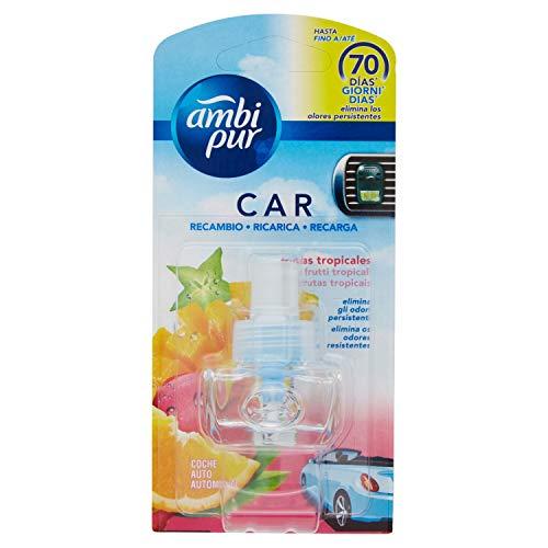 Ambi Pur Car Lufterfrischer Nachfüllpack Frucht Tropical - 7 ml