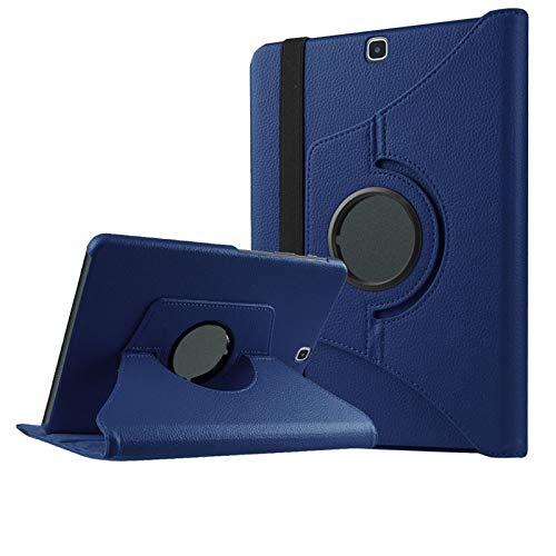 DETUOSI Cover per Samsung Galaxy Tab S2 9.7 Cover 360° Gradi Supporto Duro Antiurto Custodia per SM T815