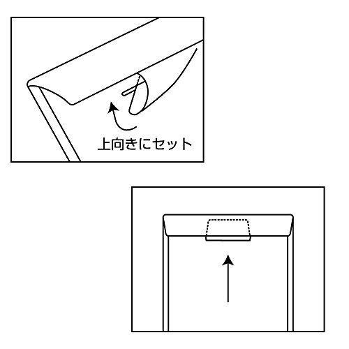 テージーキャリーバッグ(タテ型)10枚パッククリアCC-342-17