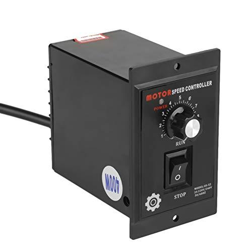 Motordrehzahlregler,Acogedor 400 Watt AC 220 V Drehzahlregelungsantriebe für Verpackungs-, Druck-, Lebensmittel-, Elektronik-, Instrumenten-, medizinische Geräte- und Bekleidungsindustrie
