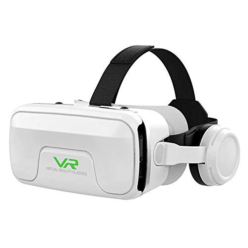 VR Headset,Virtual Reality Headset,VR Glasses,VR Goggles-for 3D VR Movies Video Games,Compatible for iPh 7/7+/6s/6+/6/5,Samsung,Huawei,Google,Moto & All Android Smartphone - G04E,B