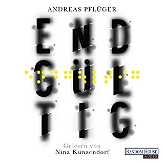 Endgültig     Jenny Aaron 1              By:                                                                                                                                 Andreas Pflüger                               Narrated by:                                                                                                                                 Nina Kunzendorf                      Length: 13 hrs and 3 mins     Not rated yet     Overall 0.0