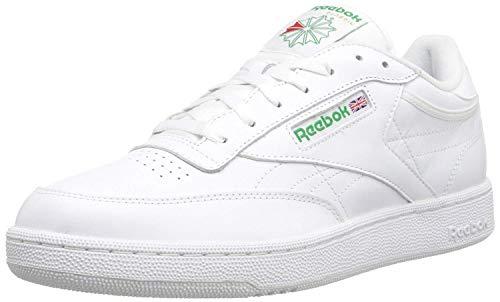 Reebok Men's Club C Sneaker,White,8 M