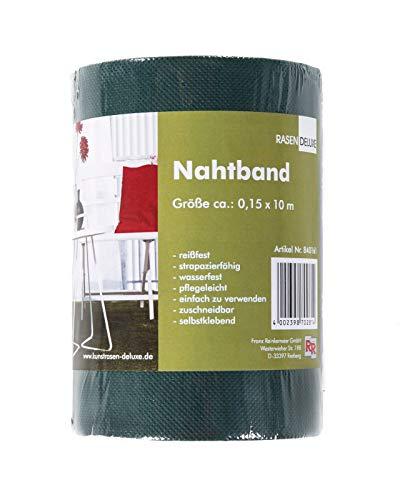 andiamo Nahtband zum Verkleben von Kunstrasen Rasenverbindung grün, 10 x 0,15 m