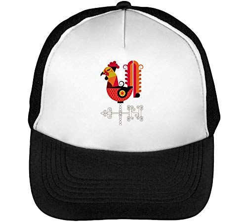 Le COQ 2017 Collection Red Rooster Symbol New Year Gorras Hombre Snapback Beisbol Negro Blanco