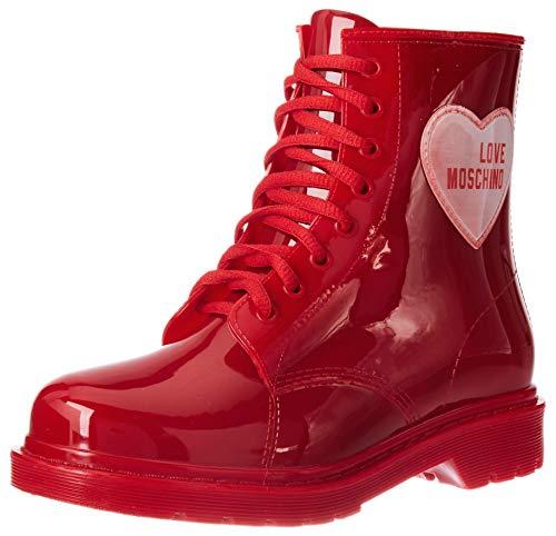 Love Moschino Ja24073g1bir2500, Rangers Femme, Rouge, 40 EU