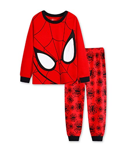 Boys Pajamas Sets Children Christmas Pants 100% Cotton Long Kids Snug Fit Pjs Winter Toddler Sleepwear (49, 4T)