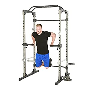 """Fitness Reality Multi Grip Set of 2, Dip Bar Attachments for 2"""" x 2"""" Tube Power Cage"""