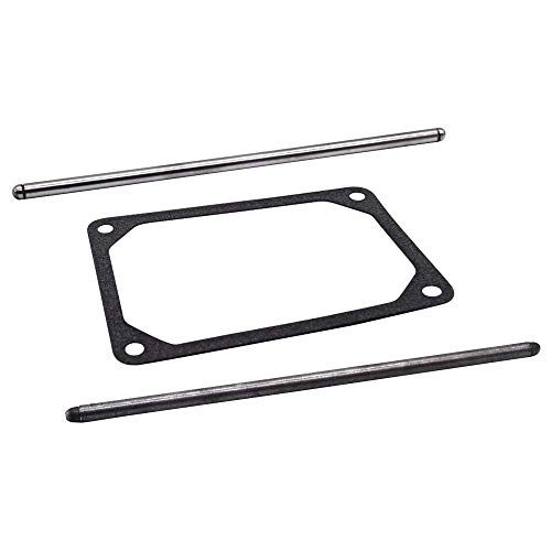 Paopro Push Rod Set 692003 & 692011 for Briggs & Stratton Intake & Exhaust Push Rod Set Kit with 272475S Rocker Cover Gasket