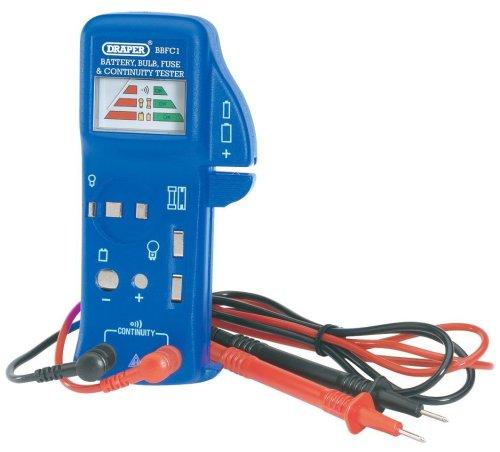 Draper 57574 doorgangsmeter voor batterijen/gloeilampen/zekeringen