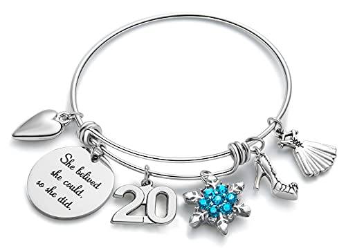 Birthday Gifts for 20 Year Old Girl Birthday Gifts for Women Charm Bracelets for Women Friend Gifts Teen Girl Gifts for Friends Female Jewelry for Women