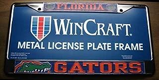 Fabri.YWL University of Florida Gators Metal with 3D Laser Cut Acrylic License Plate Frame