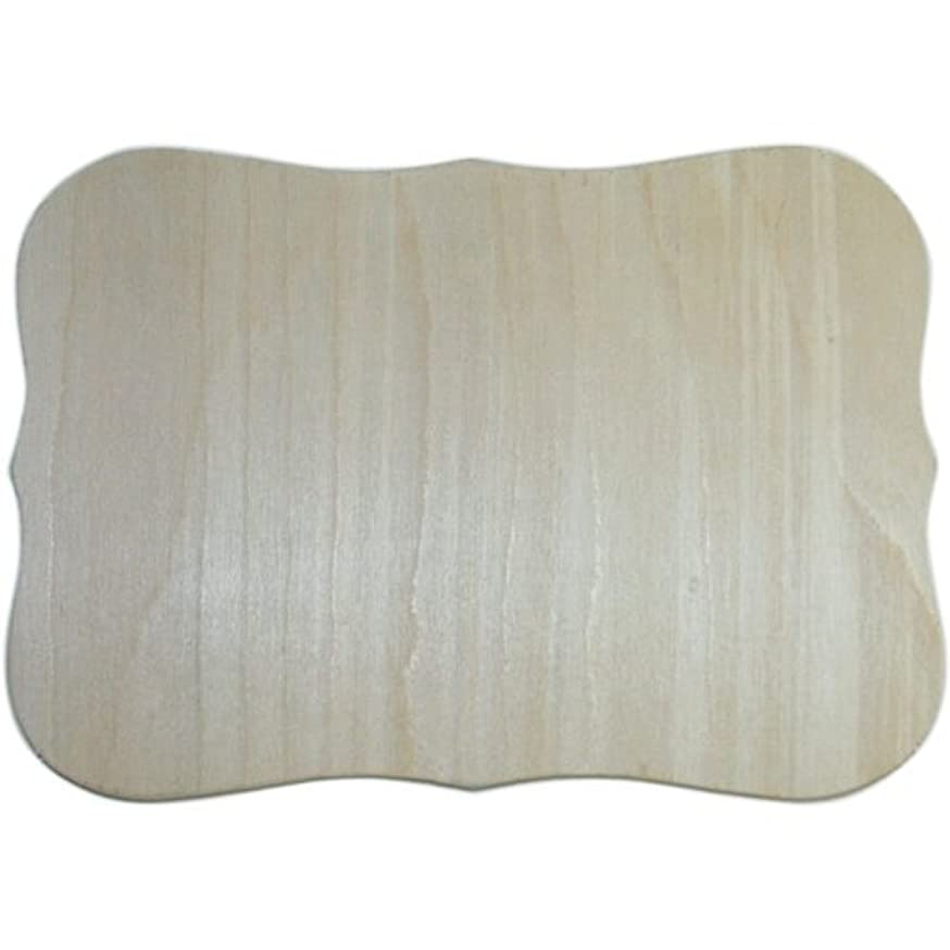 Bulk Buy: MPI Wood Unfinished Wood Baltic Birch Plaque 1/Pkg Roman 7.5in. x 10.5in. (3-Pack)