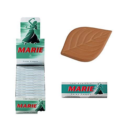 Gizeh Marie Zigarettenpapier 25 Hefte je 100 Blatt + Tabak Feuchthalter