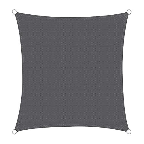 Garden Sun Shade Sail UV. Protezione resistente all'acqua tenda da tenda da tensia 420D Coperture per pergola in poliestere per patio esterno party cortile cortile campeggio con corde di montaggio