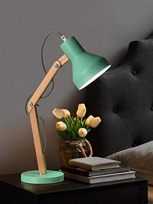 XQY Home Wohnzimmer Schlafzimmer Nachttischlampe Tischleuchte Innenbeleuchtung Augenfreundlich Zusammenklappbar Rotierendes Leselicht für Arbeitszimmer Schlafzimmer Elektrostativ E26 Birnenkompatibel