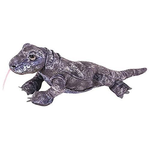 Wildlife Tree 20 Inch Gray Komodo Dragon Stuffed Animal Plush Floppy Zoo Reptile & Amphibian Collection