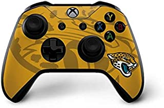 Skinit Decal Gaming Skin for Xbox One X Controller - Officially Licensed NFL Jacksonville Jaguars Double Vision Design