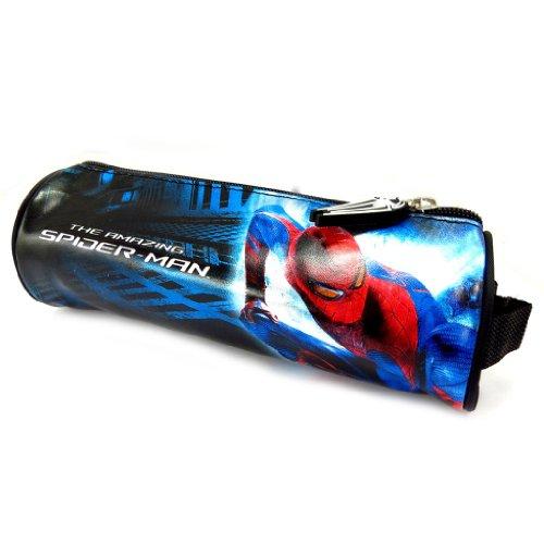 Spiderman [K5478] - Trousse Tube 'Spiderman' Bleu Rouge Noir