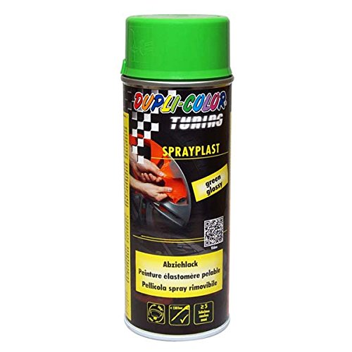 Dupli-Color 388071 DC Sprayplast Spray, 400 ml, Grün Glanz
