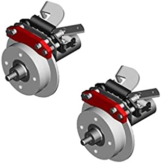 3G Rear Disc Brake Kit for EZGO Lifted Electric Golf Carts 1982+