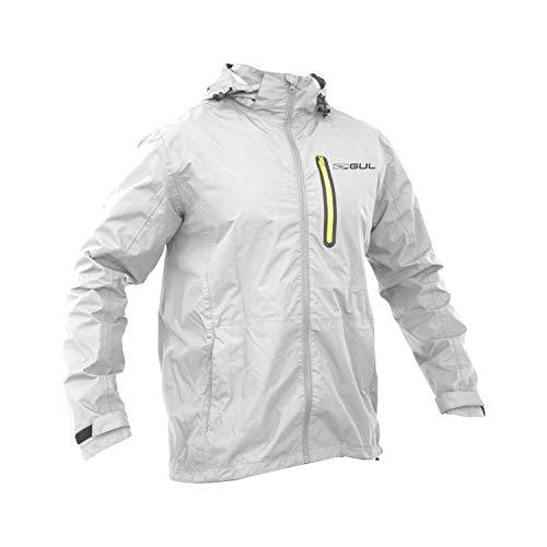 Gul heren Code Zero softshell jas jas zilver K3MJ34-B5 - lichtgewicht waterdicht sprayproof