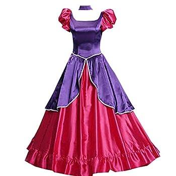 Adult Anastasia Tremaine Cosplay Costume Fancy Red Court Dress Halloween  S