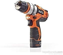 AEG 4935446382 Taladro atornillador 12V y 2 velocidades, 15 W, 12 V