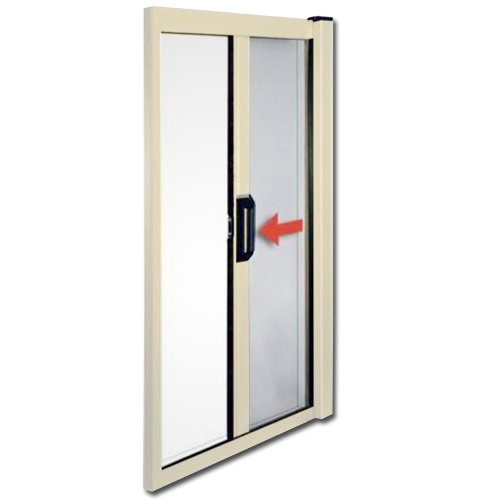 Zanzariera in alluminio a molla per porte e finestre 160x250