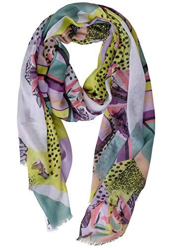 Street One Damen 571181 Mode-Schal, Light Yellow, One Size