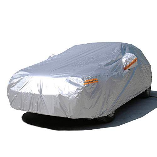 Cubiertas del coche impermeable al aire libre de Protección Solar cubierta del coche sombrillas visera del protector de la Infancia de PVC Se adapta mayoría de los vehículos