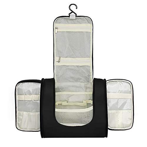 Emwel - borsa da toilette per appendere uomini e donne, borsa grande uomo donna per valigie e bagagli a mano borsa da viaggio wash bag